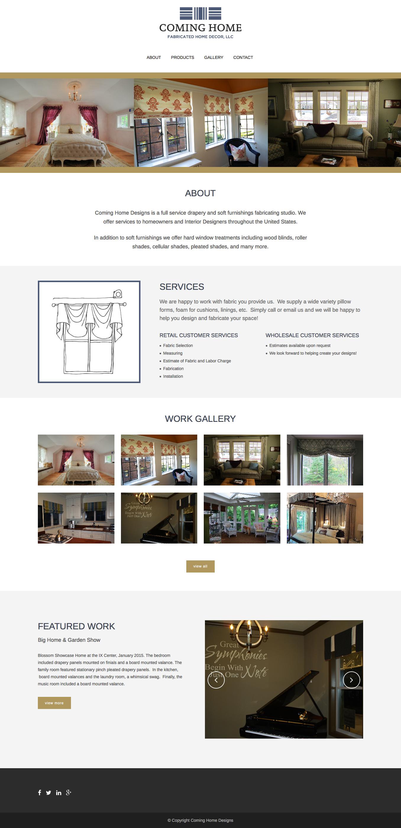 Samantha Keck | Coming Home Designs